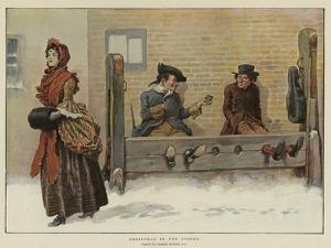 Christmas in the Stocks by Gordon Frederick Browne