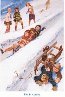 Fun in Canada by Gordon Frederick Browne