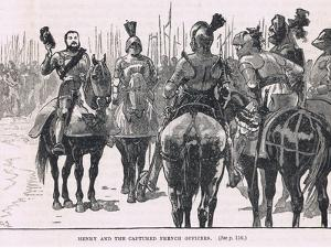 Henry and the Captured French Officers 1513 by Gordon Frederick Browne