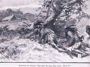 Invasion of Canada: Red Men on Warpath by Gordon Frederick Browne