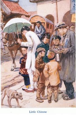 Little Chinese by Gordon Frederick Browne
