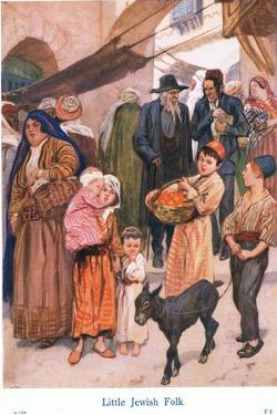 Little Jewish Folk by Gordon Frederick Browne