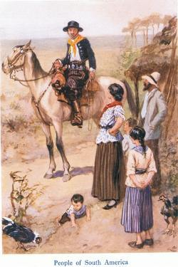 People of South America by Gordon Frederick Browne