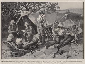 Talana Cottage, Tommy Occupies a Hut Deserted by Boer Officers by Gordon Frederick Browne