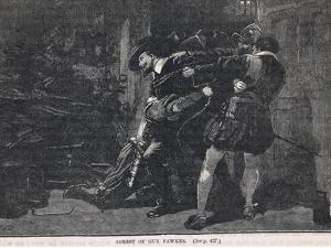 The Arrest of Guy Fawkes 1605 by Gordon Frederick Browne