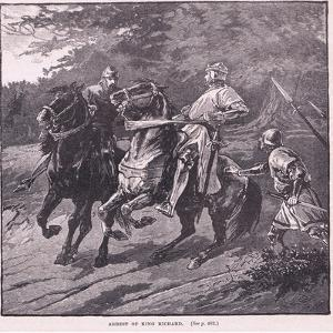 The Arrest of King Richard AD 1339 by Gordon Frederick Browne