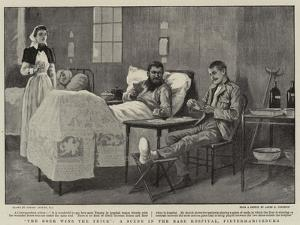 The Boer Wins the Trick, a Scene in the Base Hospital, Pietermaritzburg by Gordon Frederick Browne