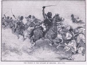 The Charge of the Cavalry Meeanee Ad 1843 by Gordon Frederick Browne