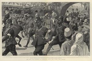 The Duke and Duchess of Cornwall's Tour, the Entry into Durban by Gordon Frederick Browne