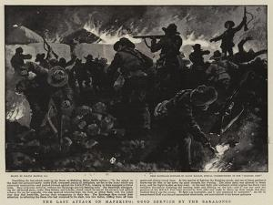 The Last Attack on Mafeking, Good Service by the Baralongs by Gordon Frederick Browne