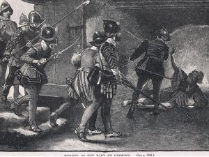 The Murder of the Earl of Desmond 1575 by Gordon Frederick Browne