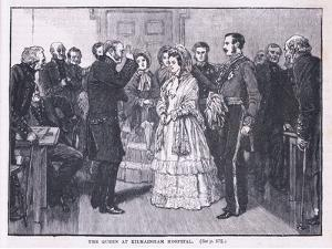 The Queen at Kilmainham Hospital Ad 1849 by Gordon Frederick Browne