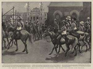 The Return of General Ian Hamilton's Troops to Pretoria, the March Past before Lord Roberts by Gordon Frederick Browne
