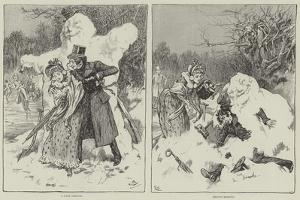 Winter Scenes by Gordon Frederick Browne