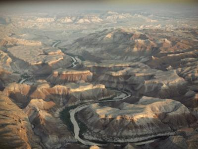 An Aerial View of Big Bend National Park in Texas