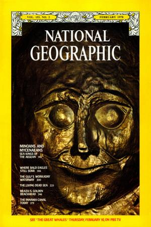 Cover of the February, 1978 National Geographic Magazine