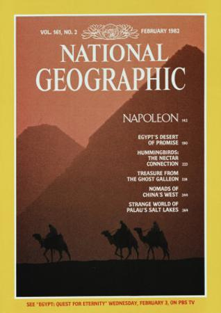 Cover of the February, 1982 National Geographic Magazine