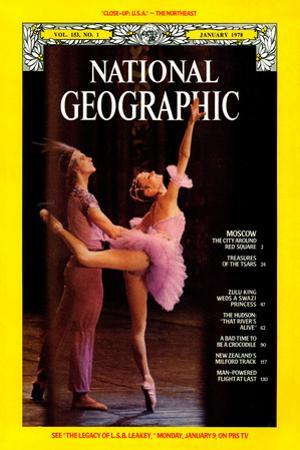 Cover of the January, 1978 National Geographic Magazine