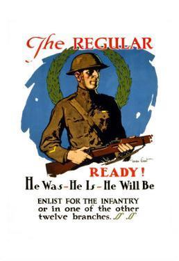 Enlist for the Infantry by Gordon Grant