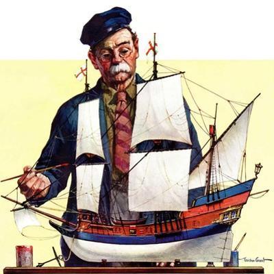 """""""Model Ship,""""October 5, 1935"""