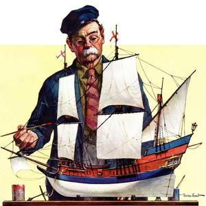 """Model Ship,""October 5, 1935 by Gordon Grant"