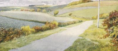 Yorkshire Scenery: The Wolds Between Sledmere and Helperthorpe by Gordon Home