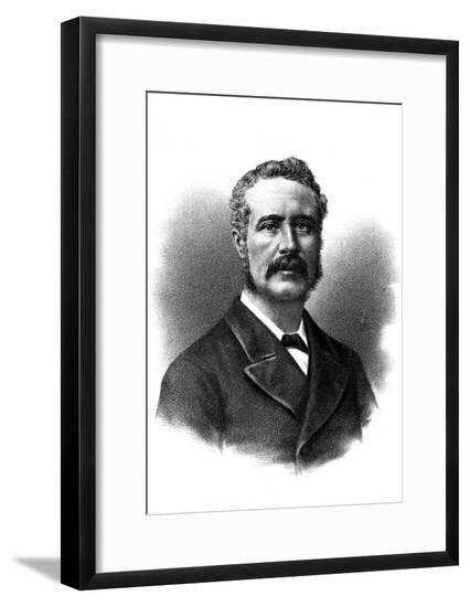 Gordon, in Civvies--Framed Giclee Print