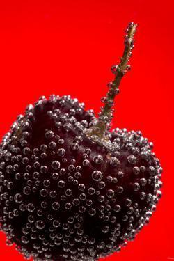 Cherry Underwater by Gordon Semmens