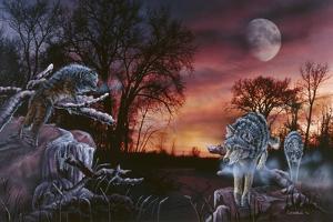 Moonlight Trackers by Gordon Semmens