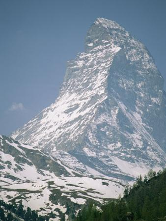 A View of the Majestic Matterhorn in the Swiss Alps by Gordon Wiltsie