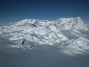 An Aerial View of Mount Vinson, Antarcticas Highest Peak by Gordon Wiltsie