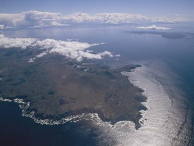 An Aerial View of Tierra Del Fuego Near Cape Horn in Chile by Gordon Wiltsie