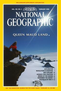 Cover of the February, 1998 National Geographic Magazine by Gordon Wiltsie