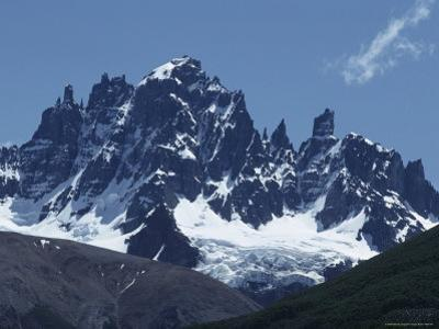 The Cerro Castillo Mountains Near Coyhaique, Chile by Gordon Wiltsie