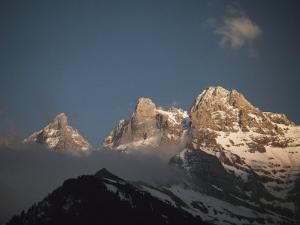 The Swiss Alps, Dents Du Midi, Portes Du Soleil Region by Gordon Wiltsie