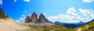 Dolomites, Italy - Tre Cime Di Lavaredo  Drei Zinnen (Unesco Natural World Heritage in Italy) Pano by Gorilla