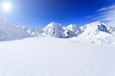 Snow-Capped Peaks of the Italian Alps by Gorilla