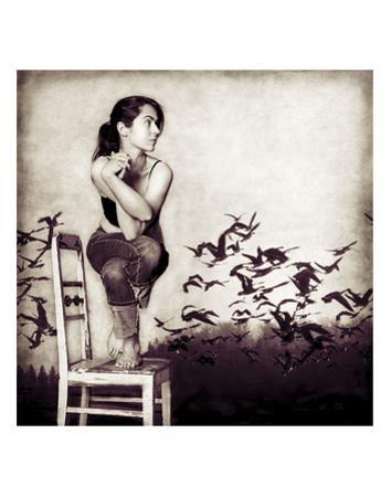Garudasana by Gosia Janik