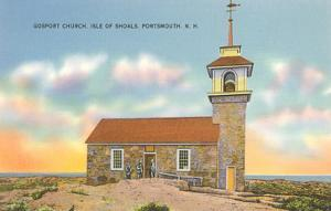 Gosport Church, Isle of Shoals, Portsmouth, New Hampshire