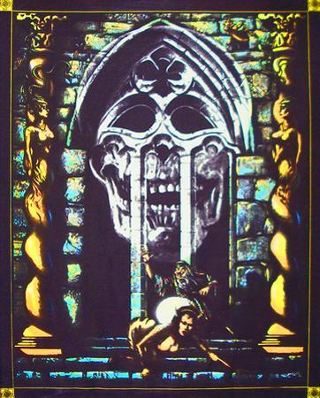 Gothic World - Opticz Cloth Fabric Poster