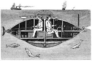 Goubet II, French Electrically Powered Submarine Adopted by the Russian Government, 1890
