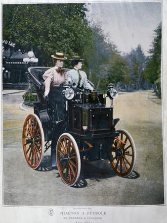 A Petrol-Powered Phaeton, 1896