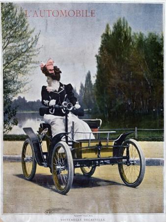 The Decauville Voiturelle, C1898-1903