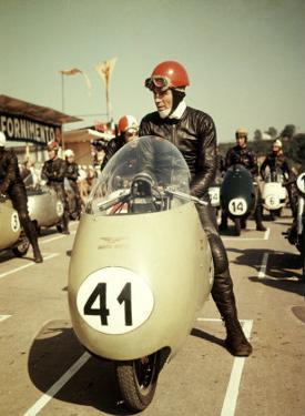 GP Moto Guzzi Motorcycle Race