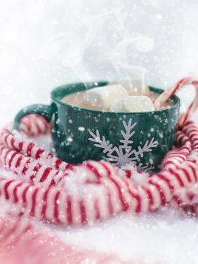 Christmas Marshmallow Mug by Grab My Art