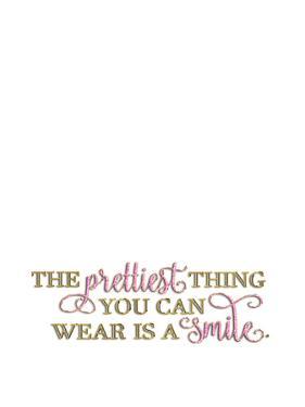 Elegant Smile Glitter Gold by Grab My Art