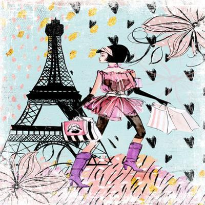 Fashion Girl In Paris by Grab My Art