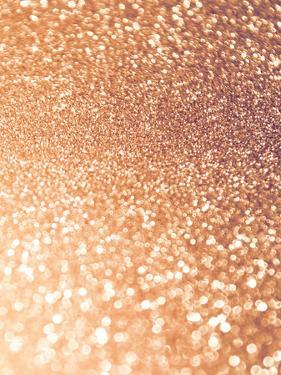 Glitter Rosegold Sparkle by Grab My Art