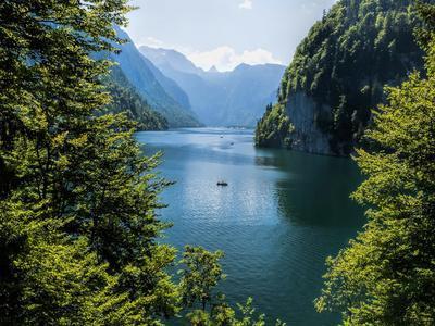 Koenigssee Lake Alpes Mountains Bavaria 6