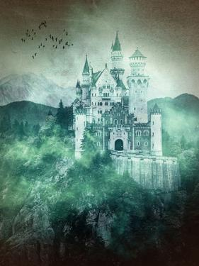 Neuschwanstein Castle-Germany by Grab My Art